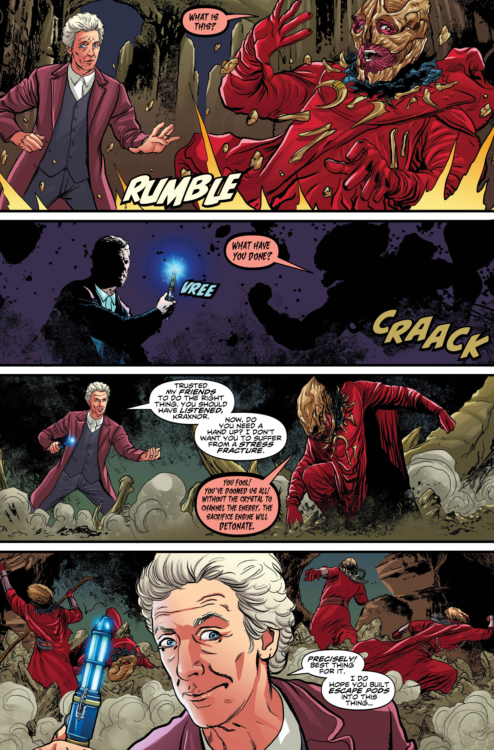Read online Doctor Who: Ghost Stories comic -  Issue #7 - 8