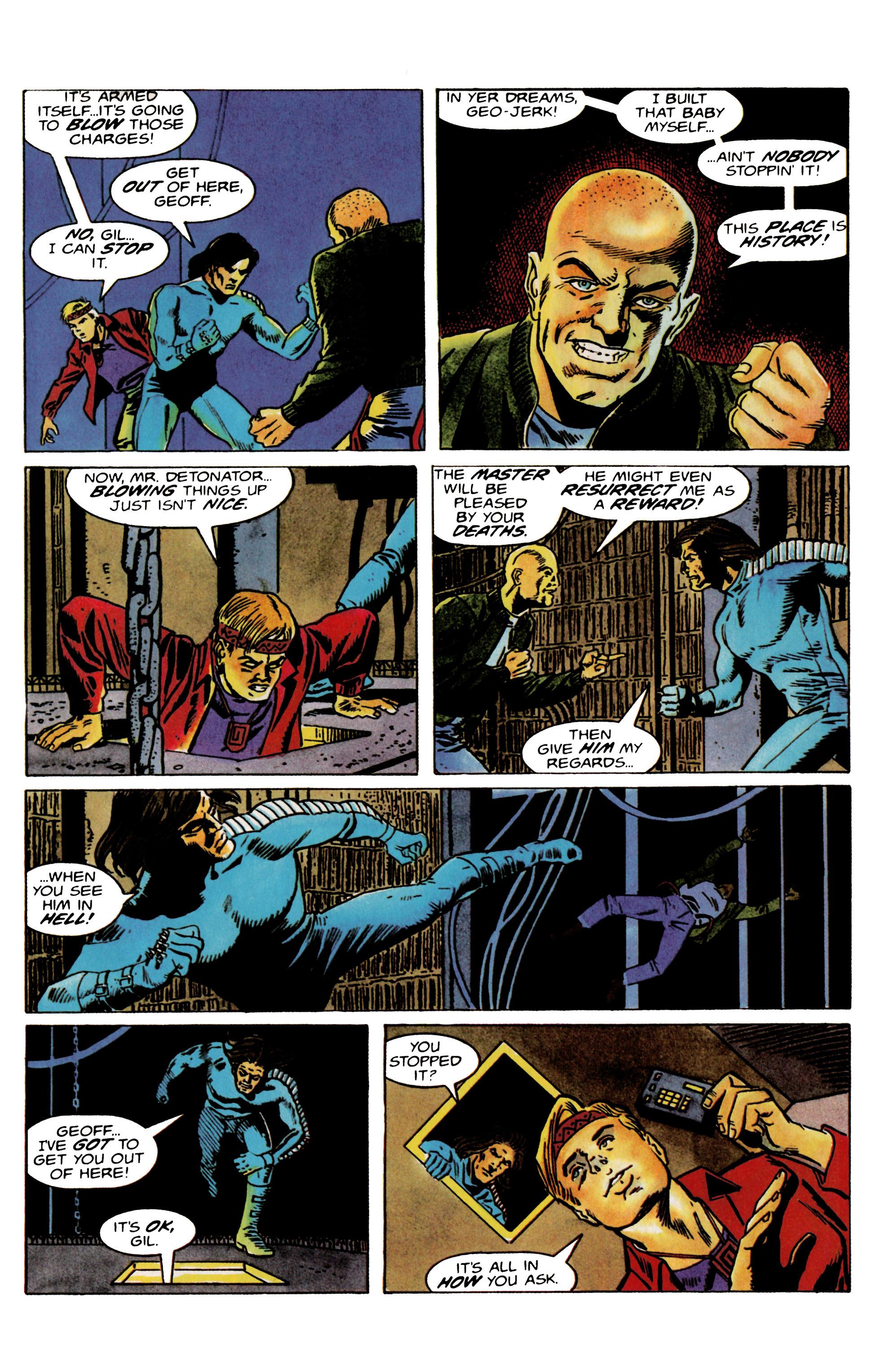 Read online Eternal Warrior (1992) comic -  Issue #22 - 21