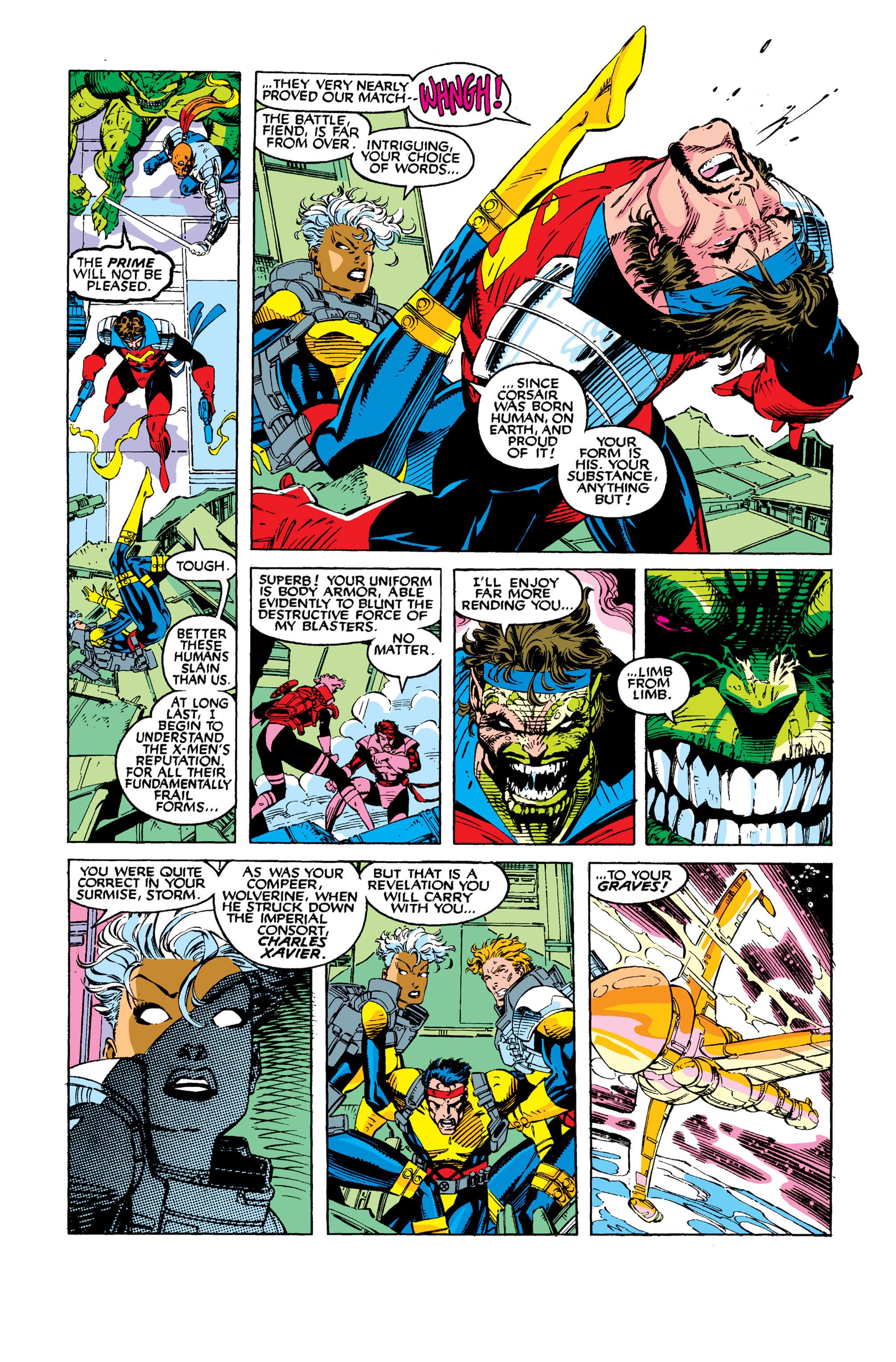 Read online Uncanny X-Men (1963) comic -  Issue #277 - 9