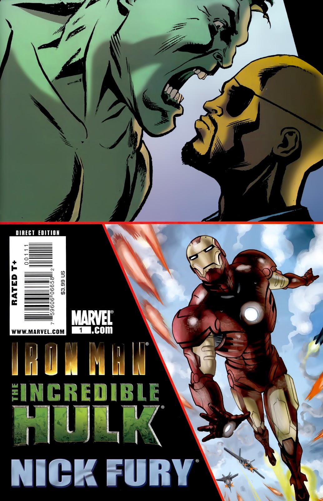 Iron Man/Hulk/Fury issue Full - Page 1