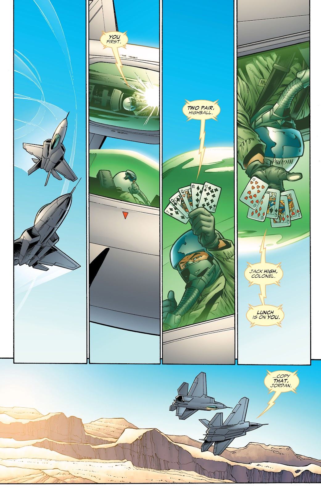 Read online Green Lantern by Geoff Johns comic -  Issue # TPB 1 (Part 4) - 2