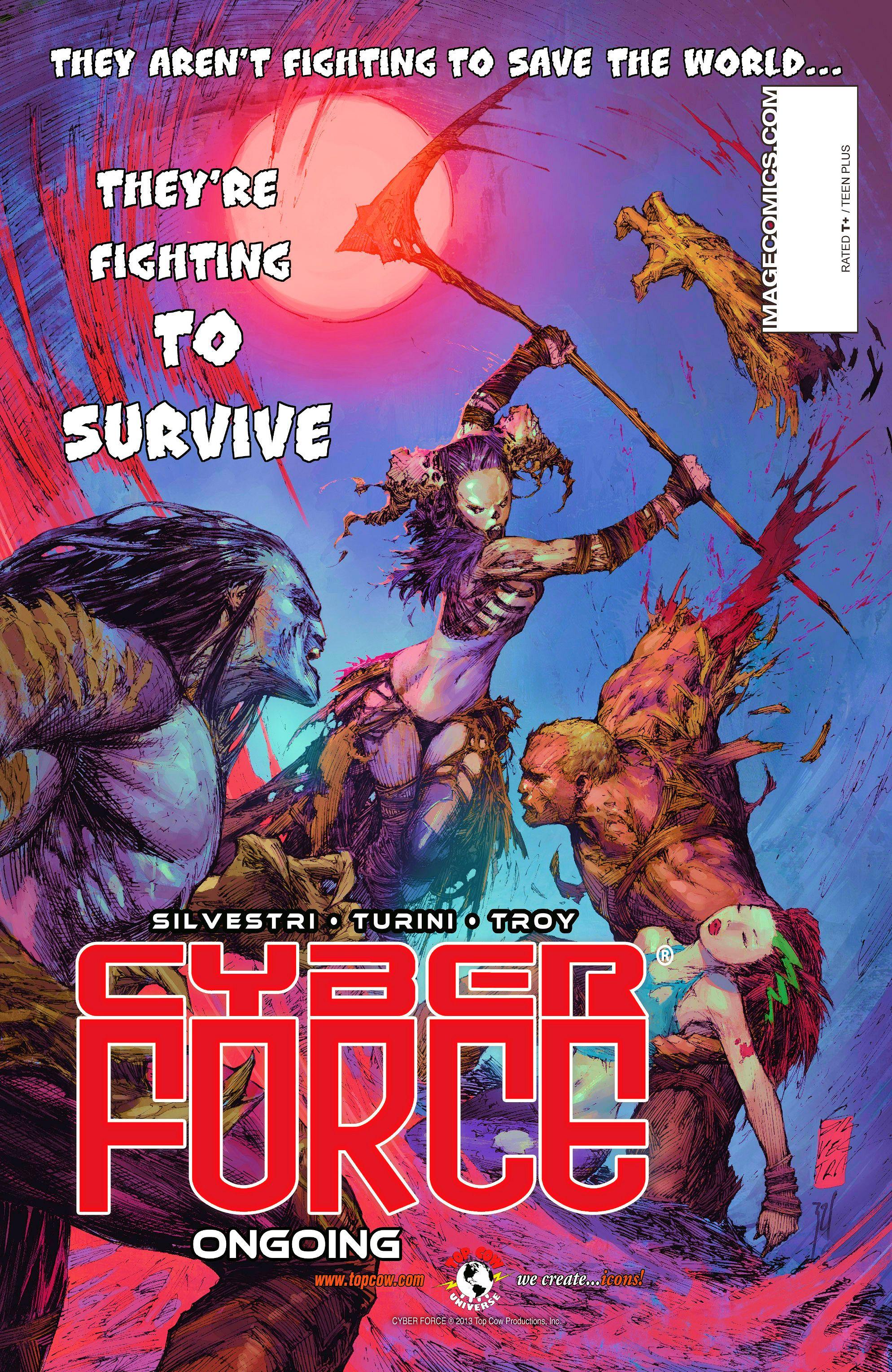 Read online Aphrodite IX (2013) comic -  Issue #9 - 28