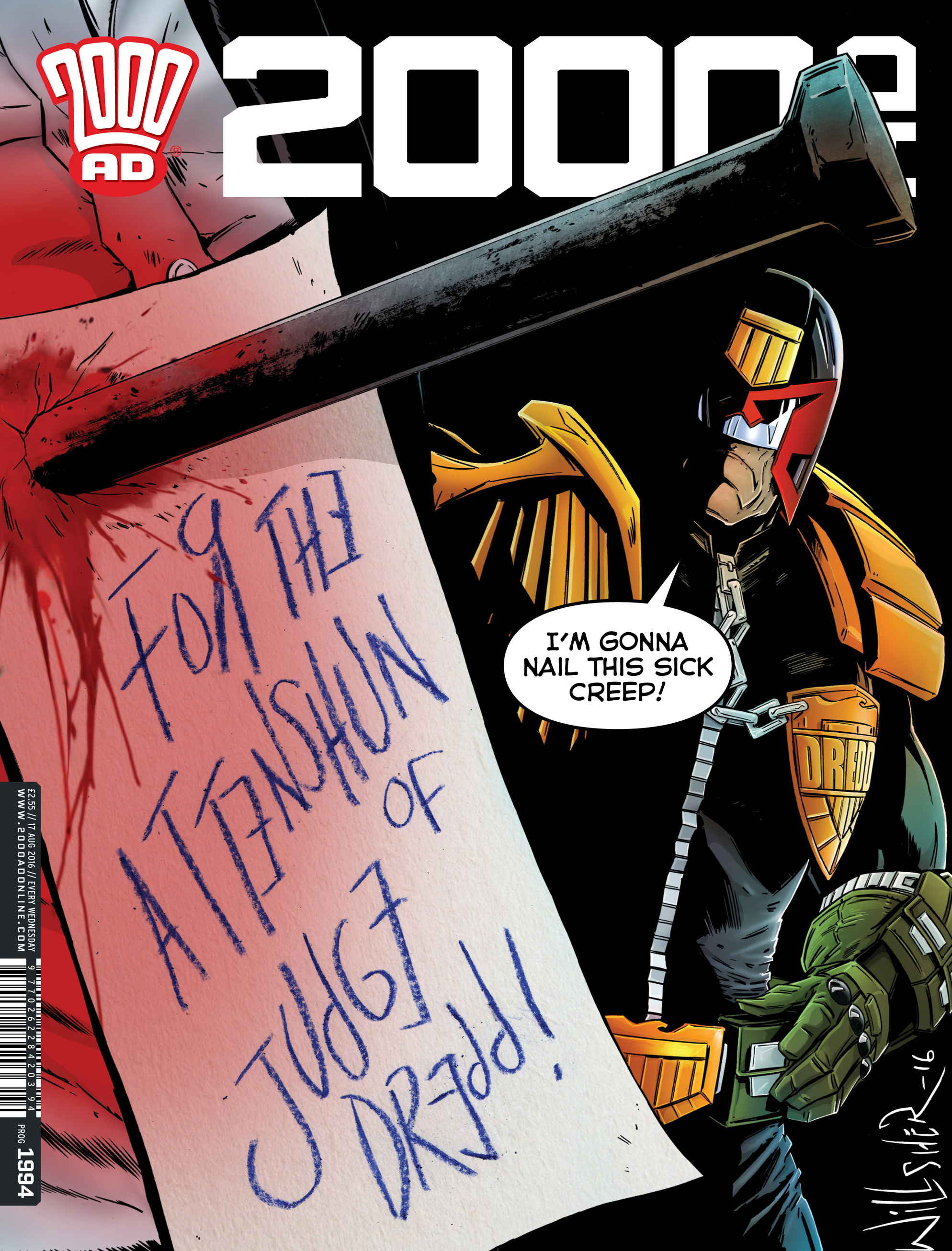 Read online 2000 AD comic -  Issue #1994 - 1
