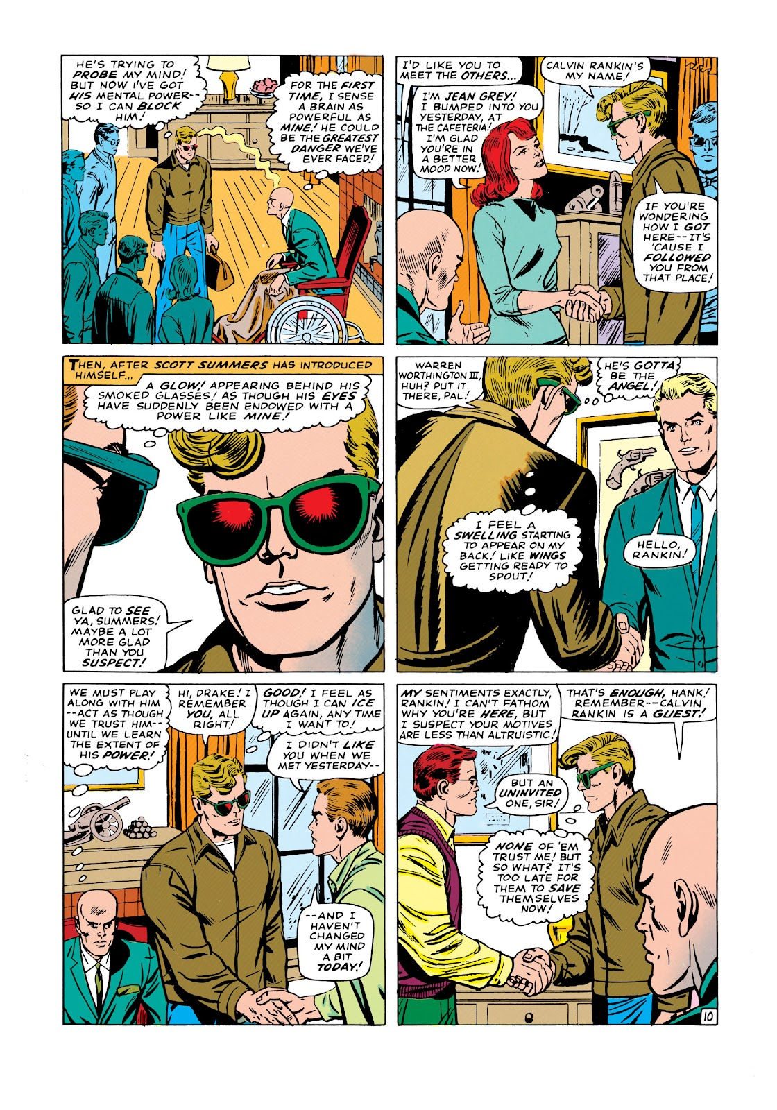 Uncanny X-Men (1963) issue 19 - Page 11