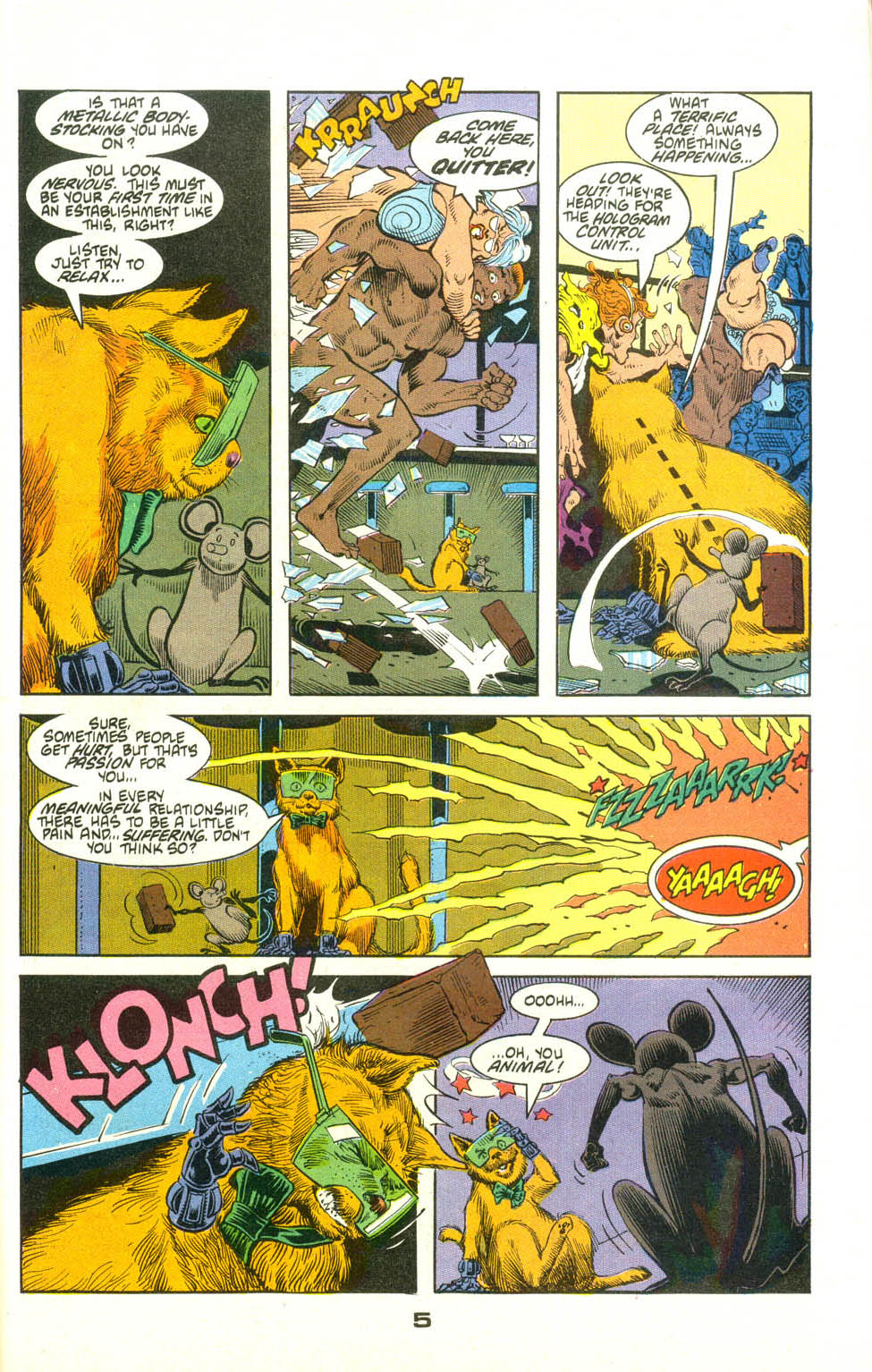 Read online American Flagg! comic -  Issue #23 - 27