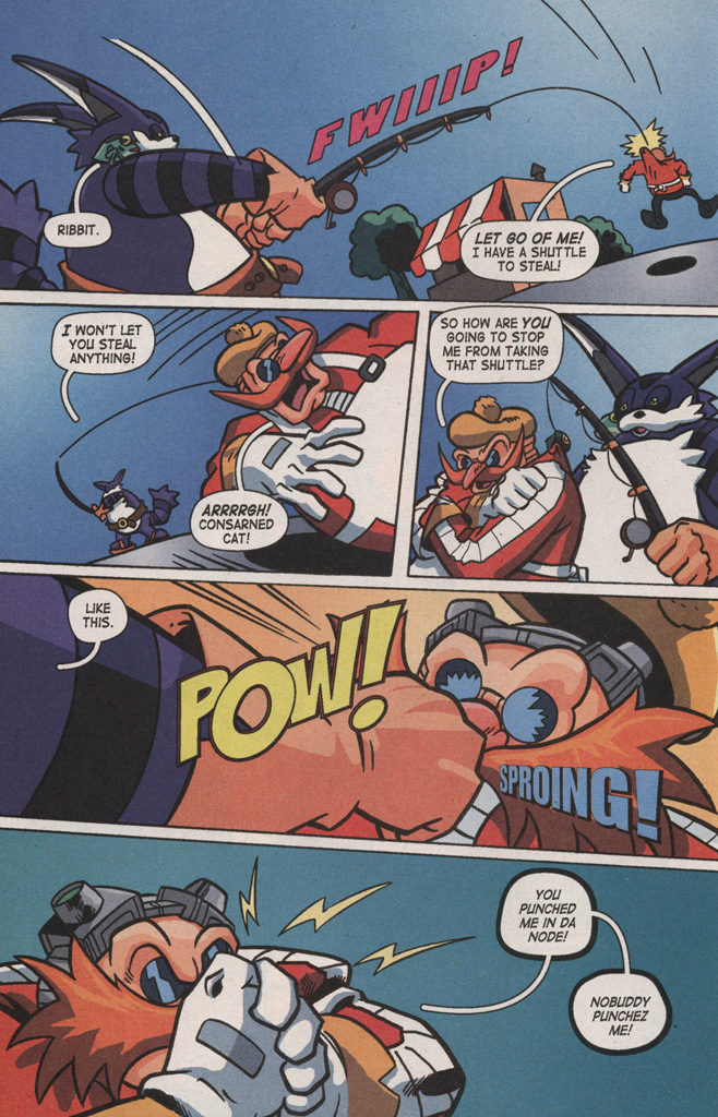 Read online Sonic X comic -  Issue #8 - 28