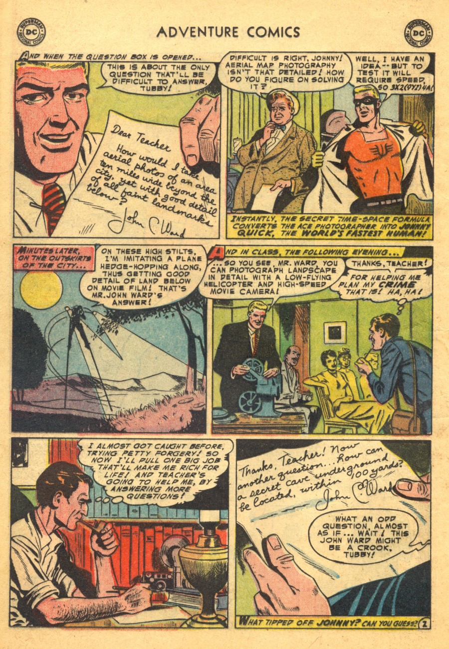 Read online Adventure Comics (1938) comic -  Issue #203 - 26