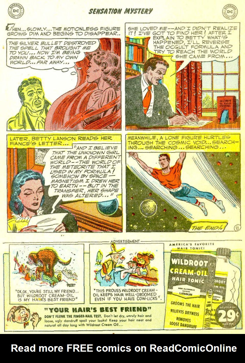 Read online Sensation (Mystery) Comics comic -  Issue #111 - 10