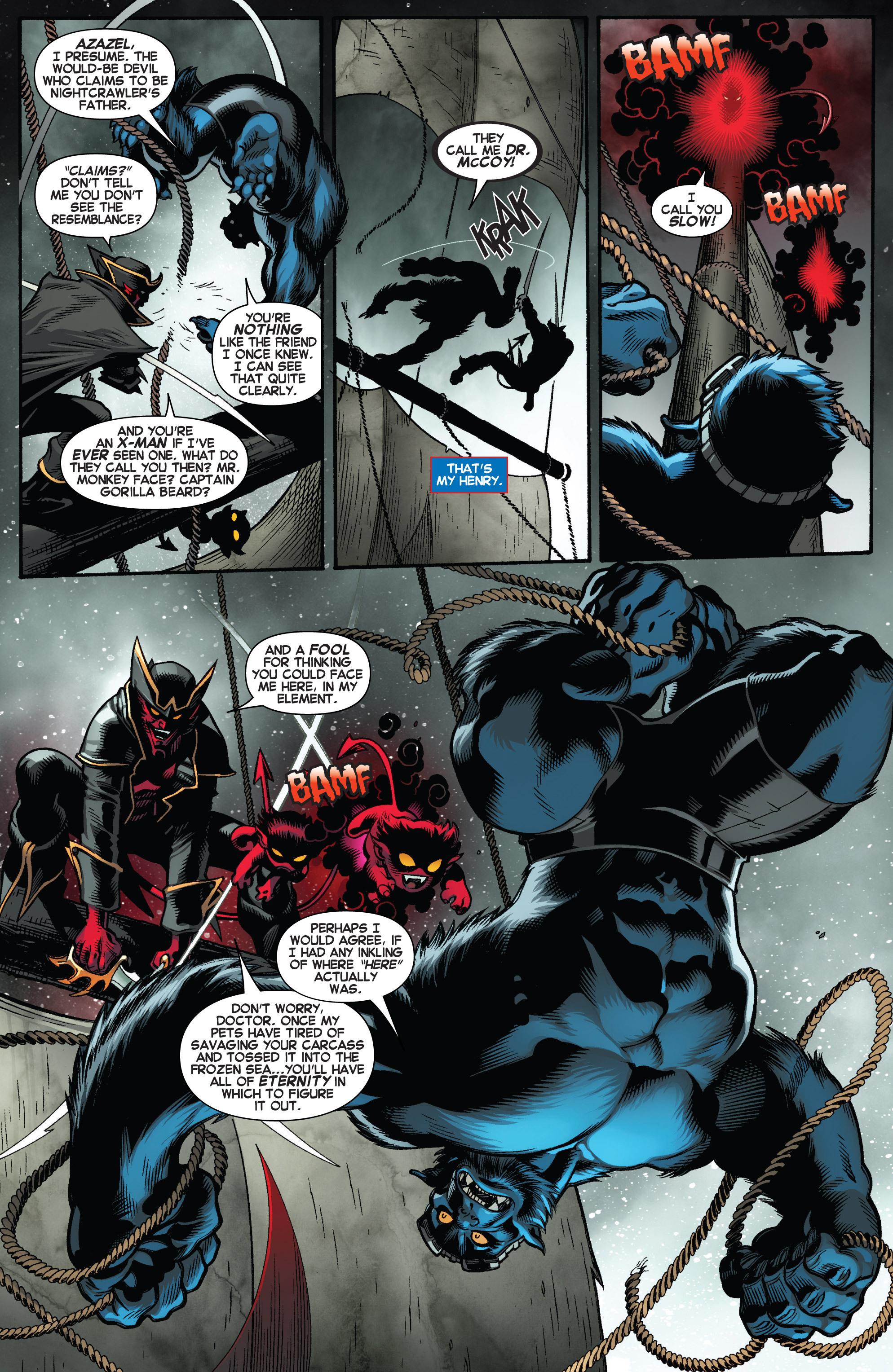 Read online Amazing X-Men (2014) comic -  Issue #3 - 6