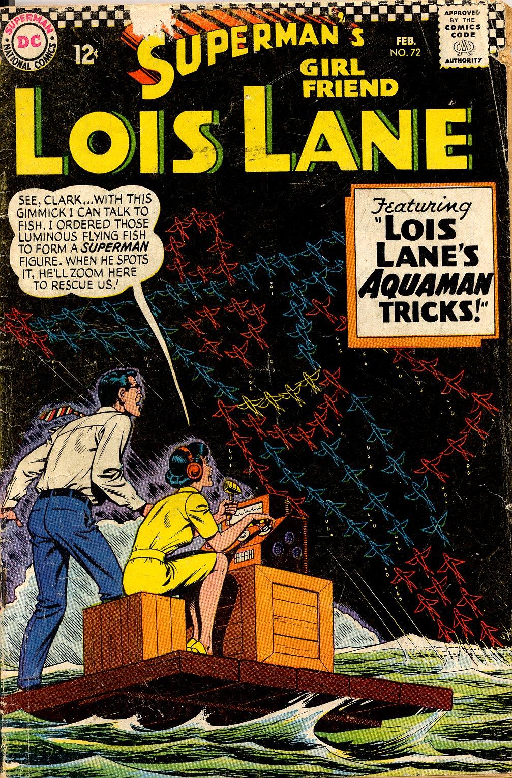 Supermans Girl Friend, Lois Lane 72 Page 1