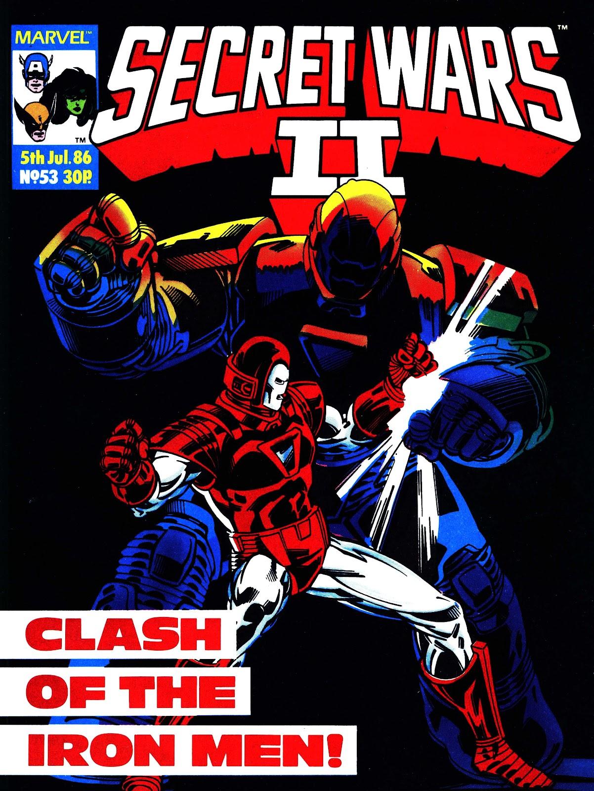Secret Wars (1985) issue 53 - Page 1