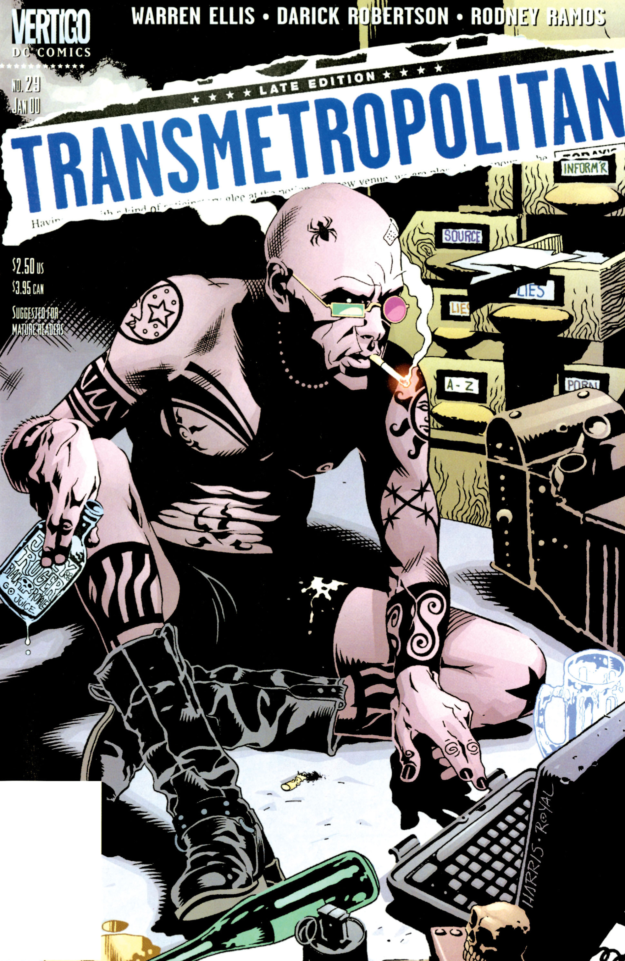 Transmetropolitan issue 29 - Page 1