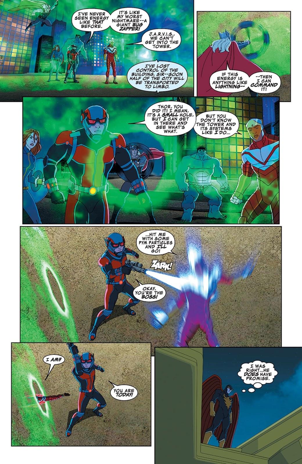Read online Marvel Universe Avengers Assemble Season 2 comic -  Issue #13 - 20
