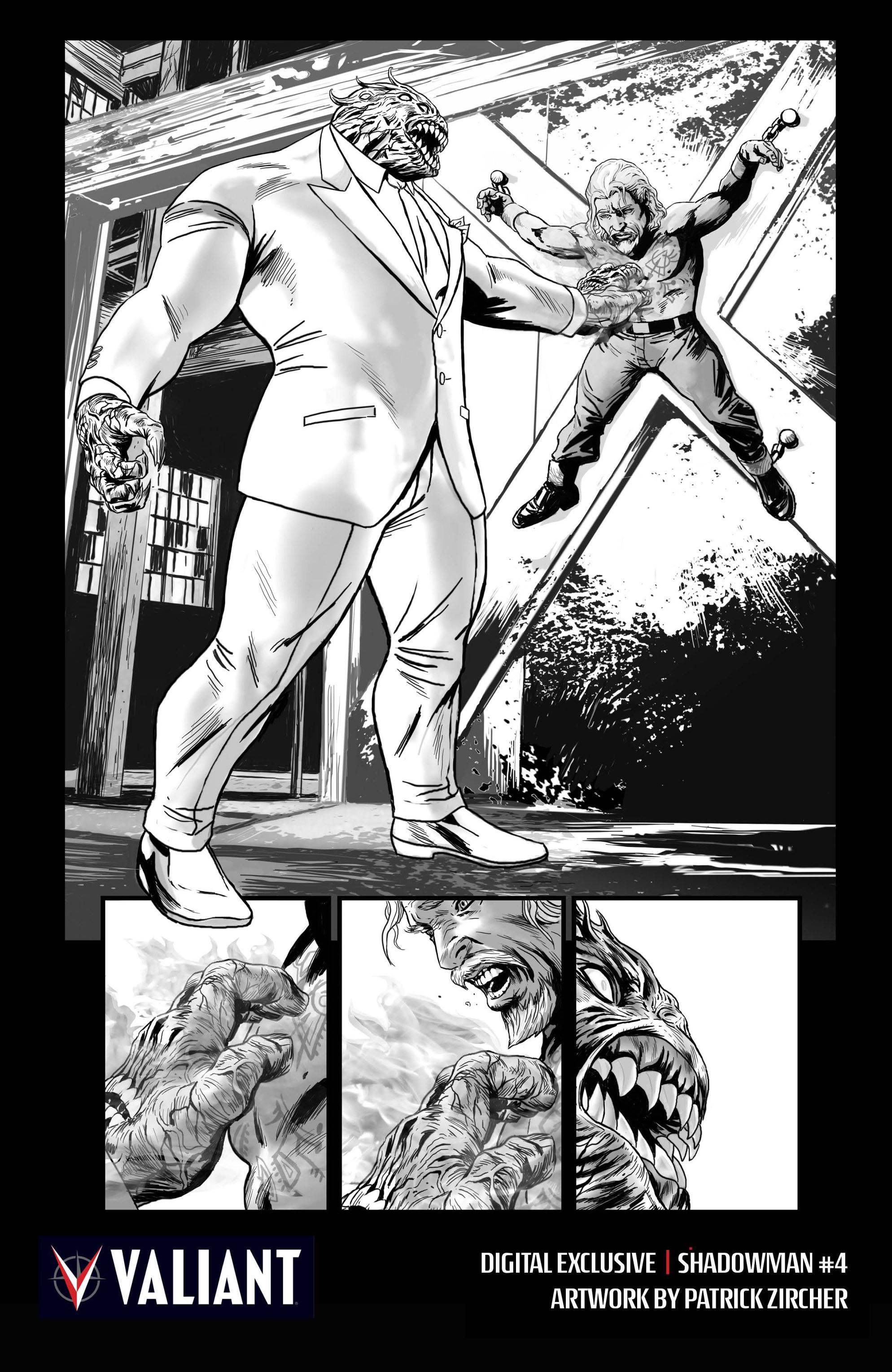Read online Shadowman (2012) comic -  Issue #4 - 30