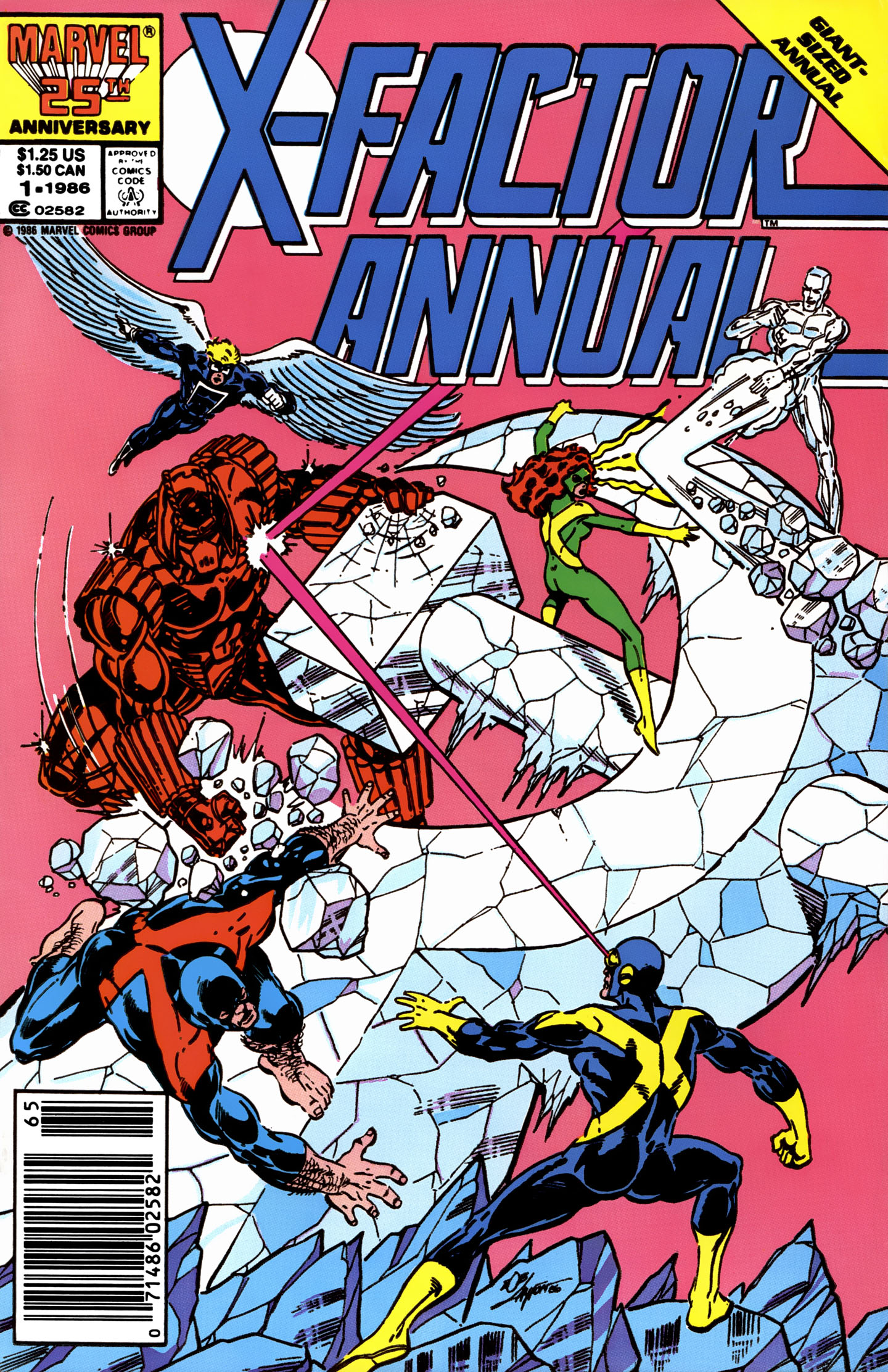 Read online X-Factor (1986) comic -  Issue # _ Annual 1 - 1