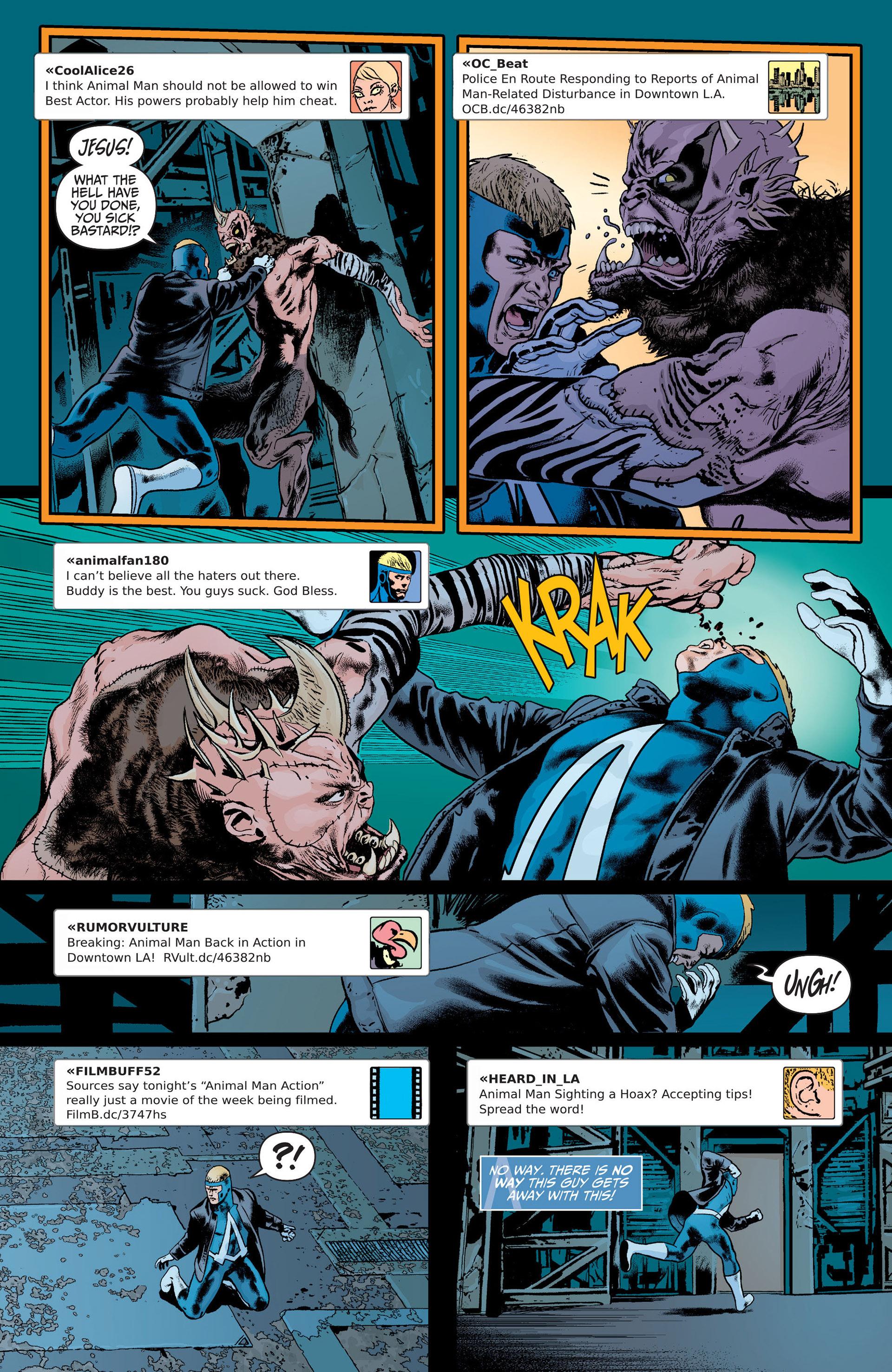 Read online Animal Man (2011) comic -  Issue #21 - 17