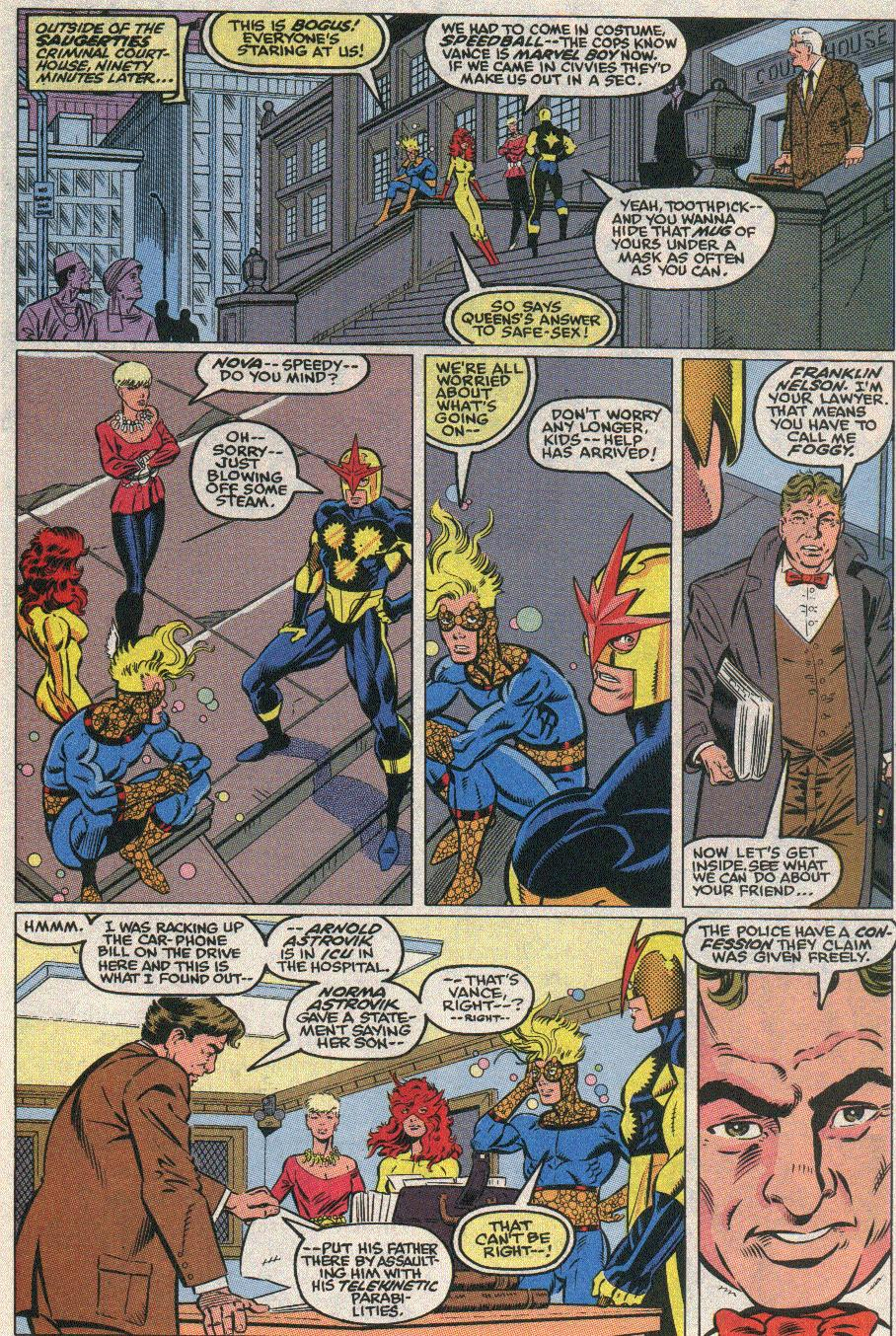 The New Warriors Issue #21 #25 - English 7