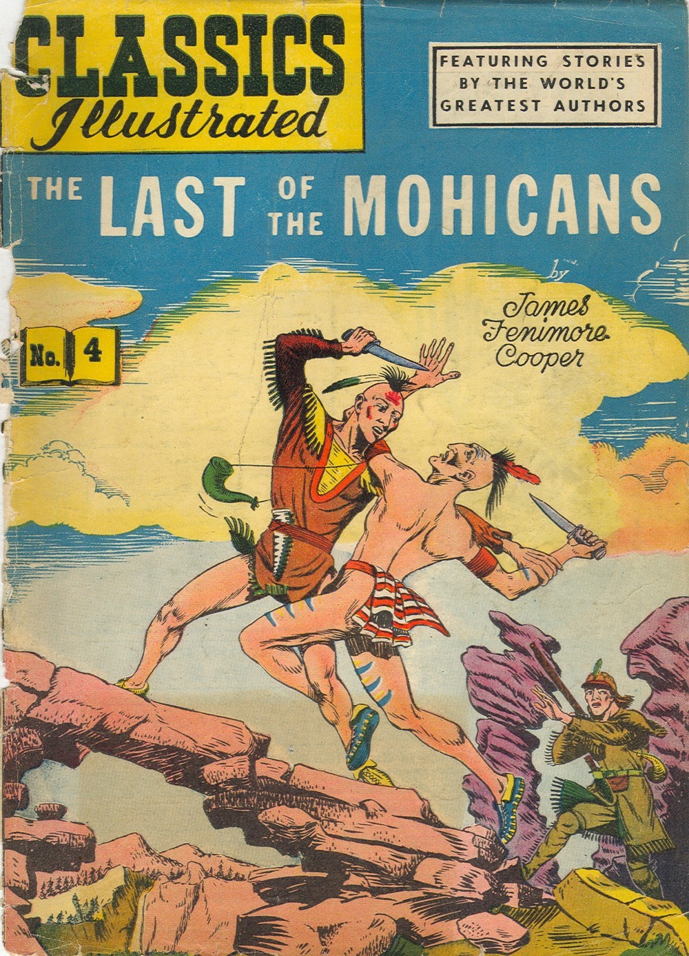 Classics Illustrated 4 Page 1