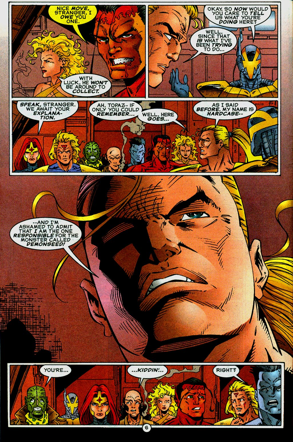 Read online UltraForce (1995) comic -  Issue #14 - 6