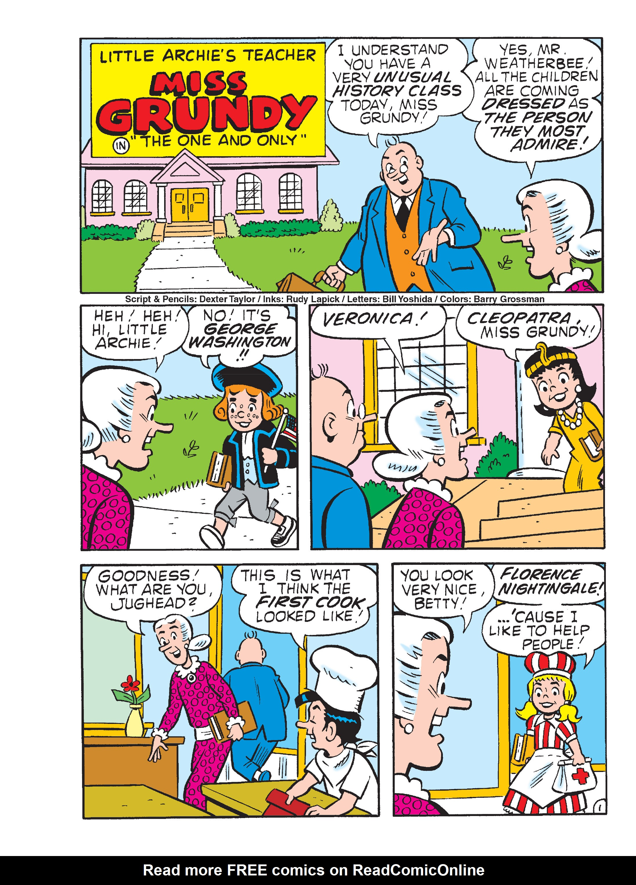 Read online Archie's Funhouse Double Digest comic -  Issue #13 - 137