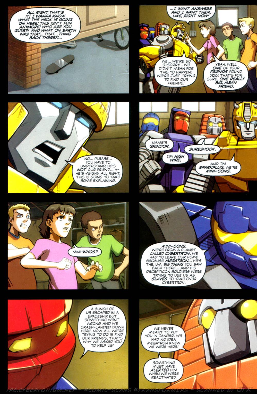 Read online Transformers Armada comic -  Issue #4 - 14