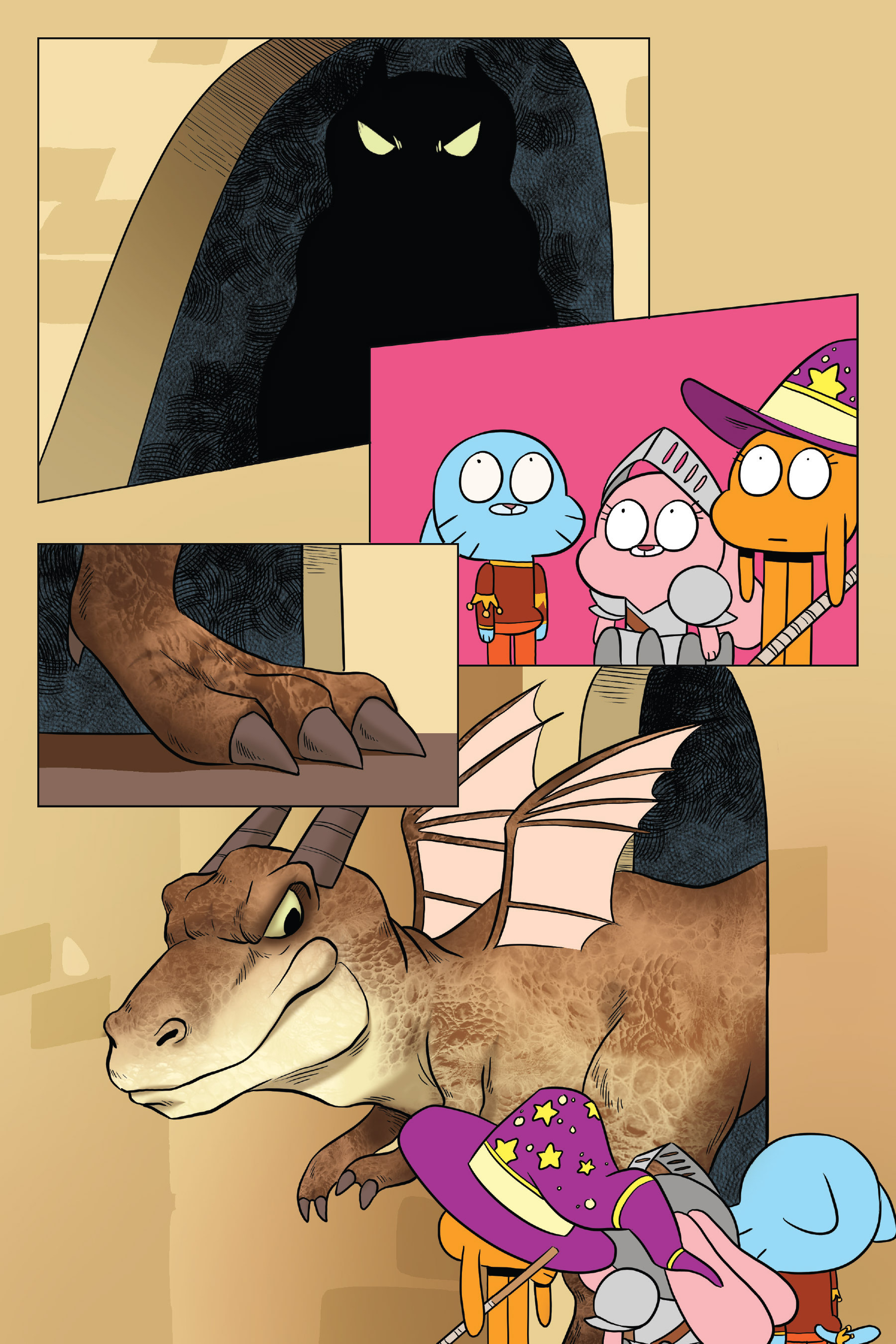 Read online The Amazing World of Gumball: Fairy Tale Trouble comic -  Issue # Full - 97
