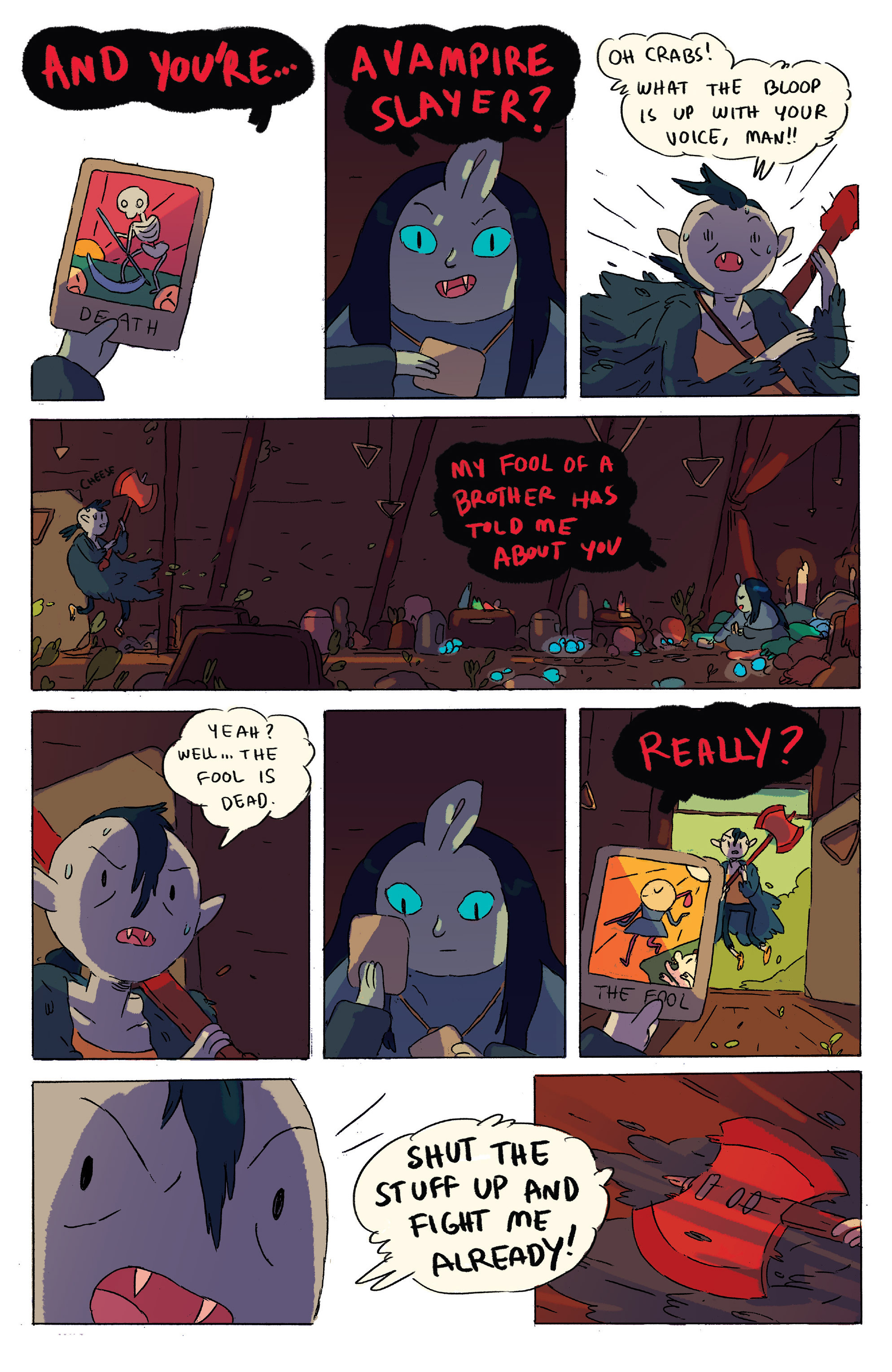 Read online Adventure Time comic -  Issue # _2015 Spoooktacular - 25