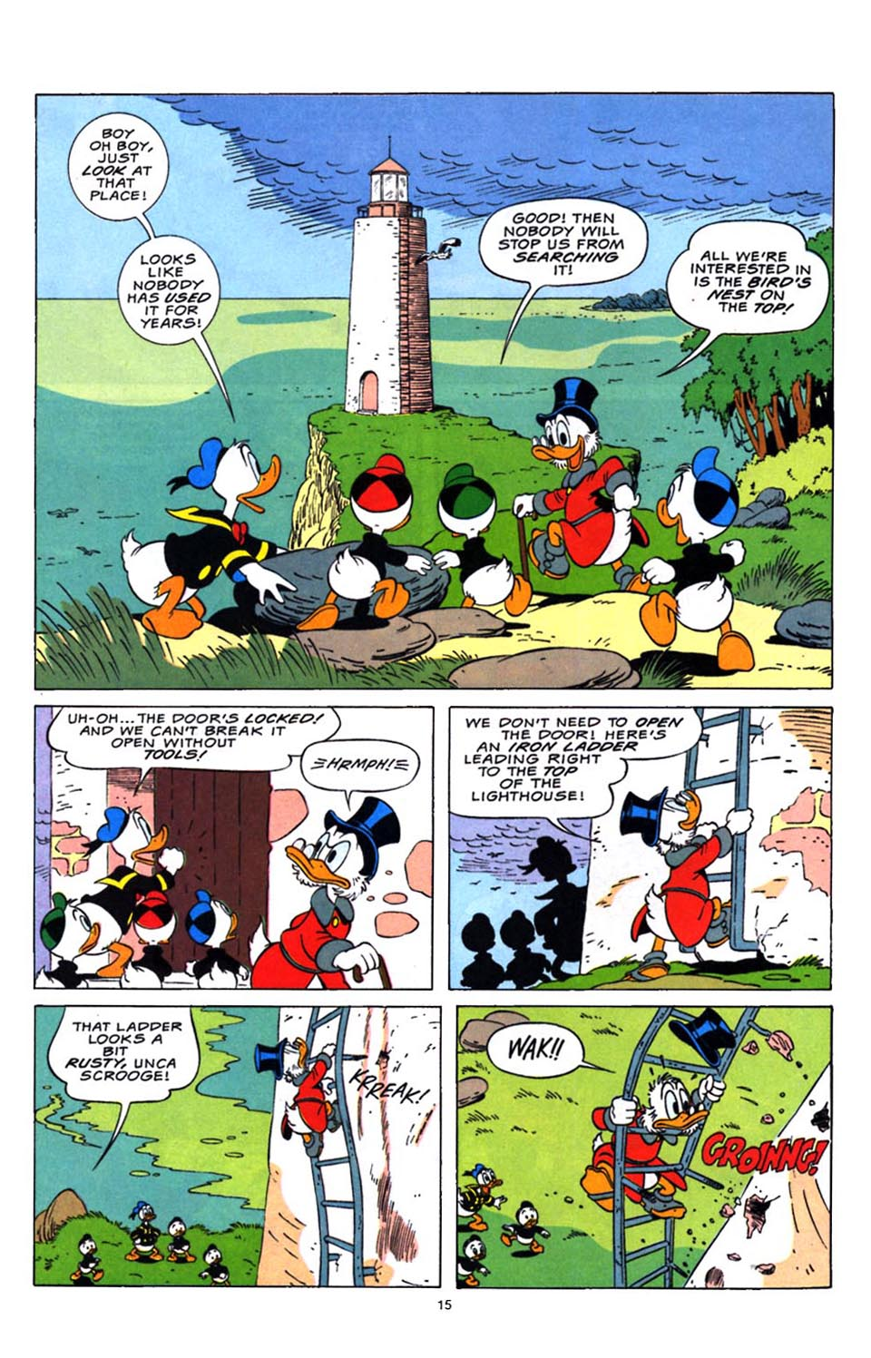 Read online Uncle Scrooge (1953) comic -  Issue #248 - 16