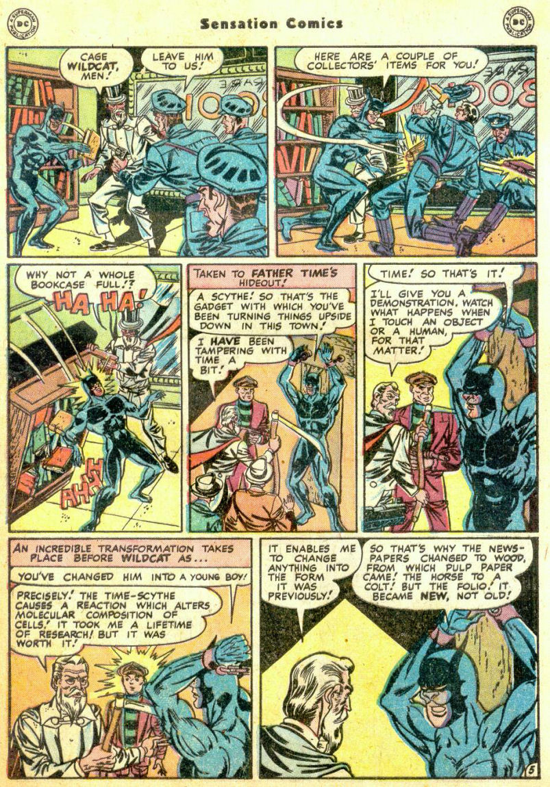 Read online Sensation (Mystery) Comics comic -  Issue #74 - 47