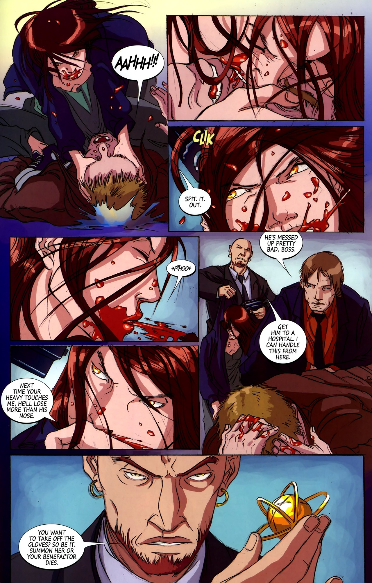 Read online Hexed comic -  Issue #2 - 22