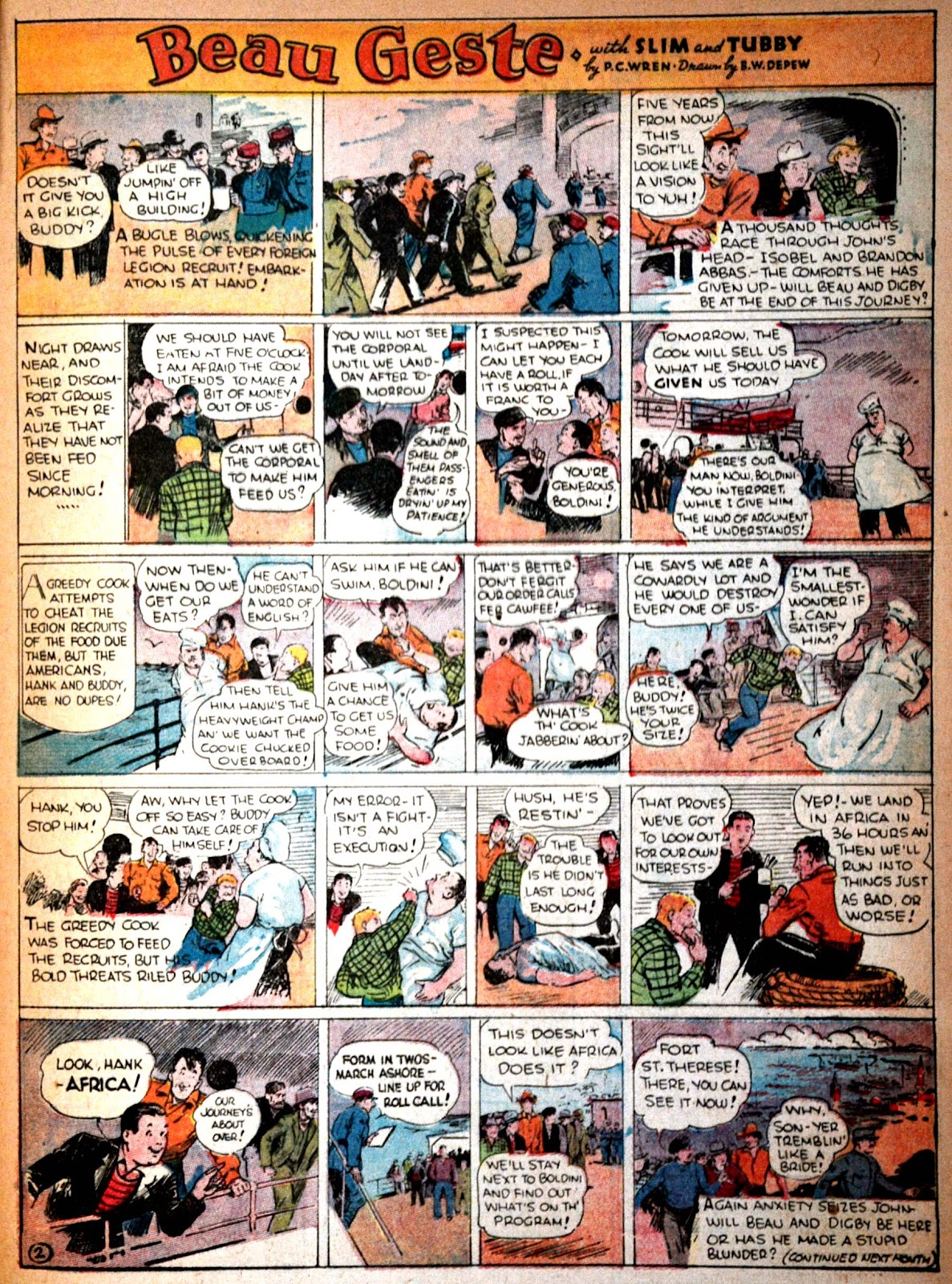 Read online Famous Funnies comic -  Issue #29 - 46