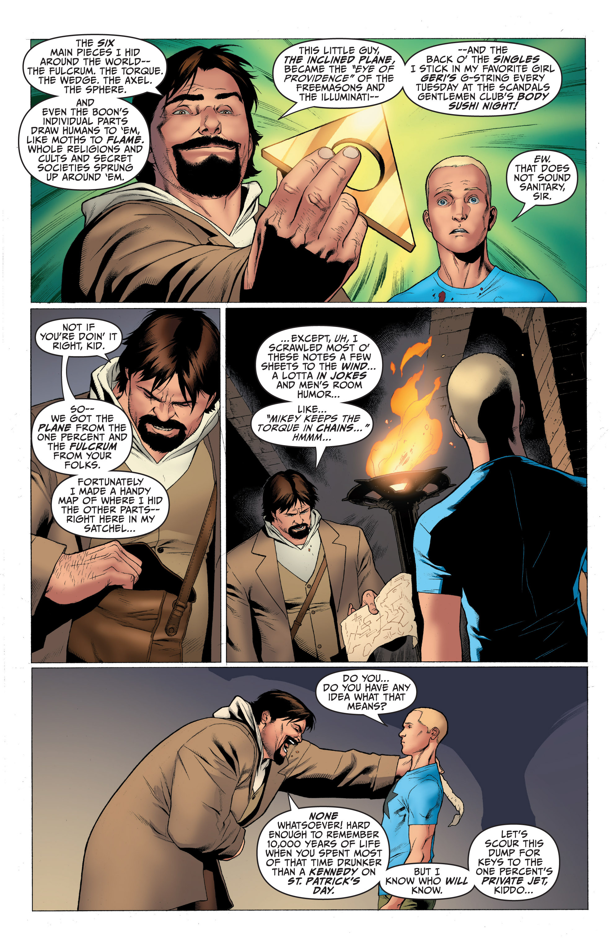 Read online Archer and Armstrong comic -  Issue #Archer and Armstrong _TPB 1 - 42
