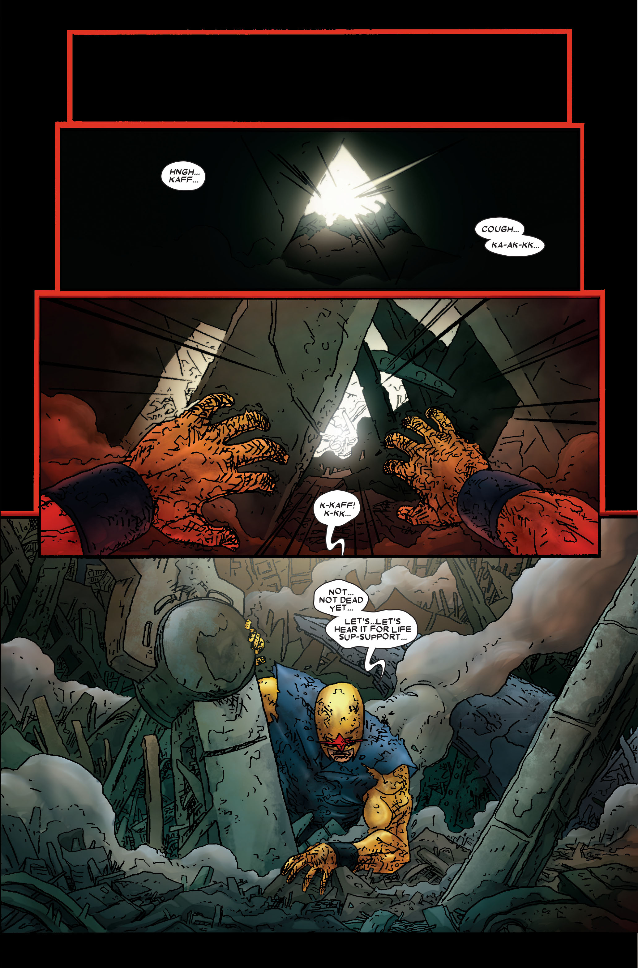 Read online Annihilation: Prologue comic -  Issue #Annihilation: Prologue Full - 31