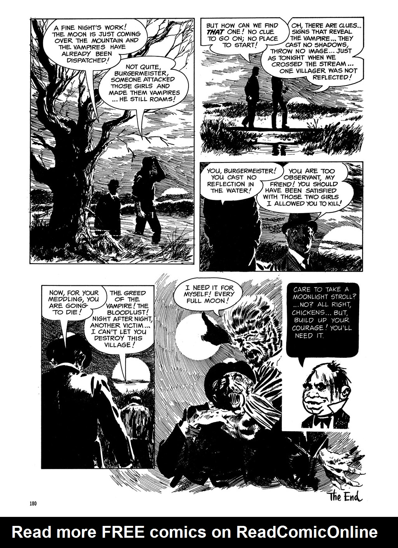 Read online Eerie Archives comic -  Issue # TPB 3 - 181