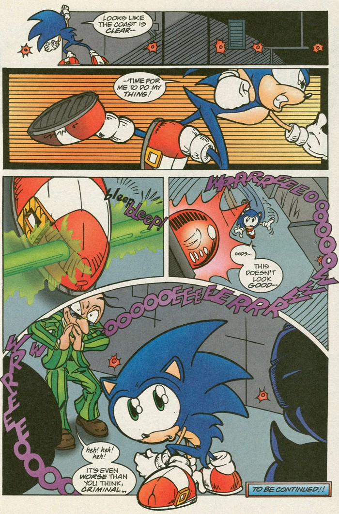Read online Sonic Super Special comic -  Issue #14 - best of times - 8