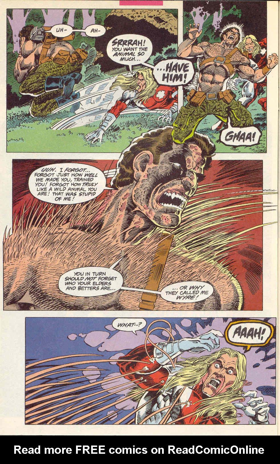 Read online Alpha Flight (1983) comic -  Issue #115 - 5