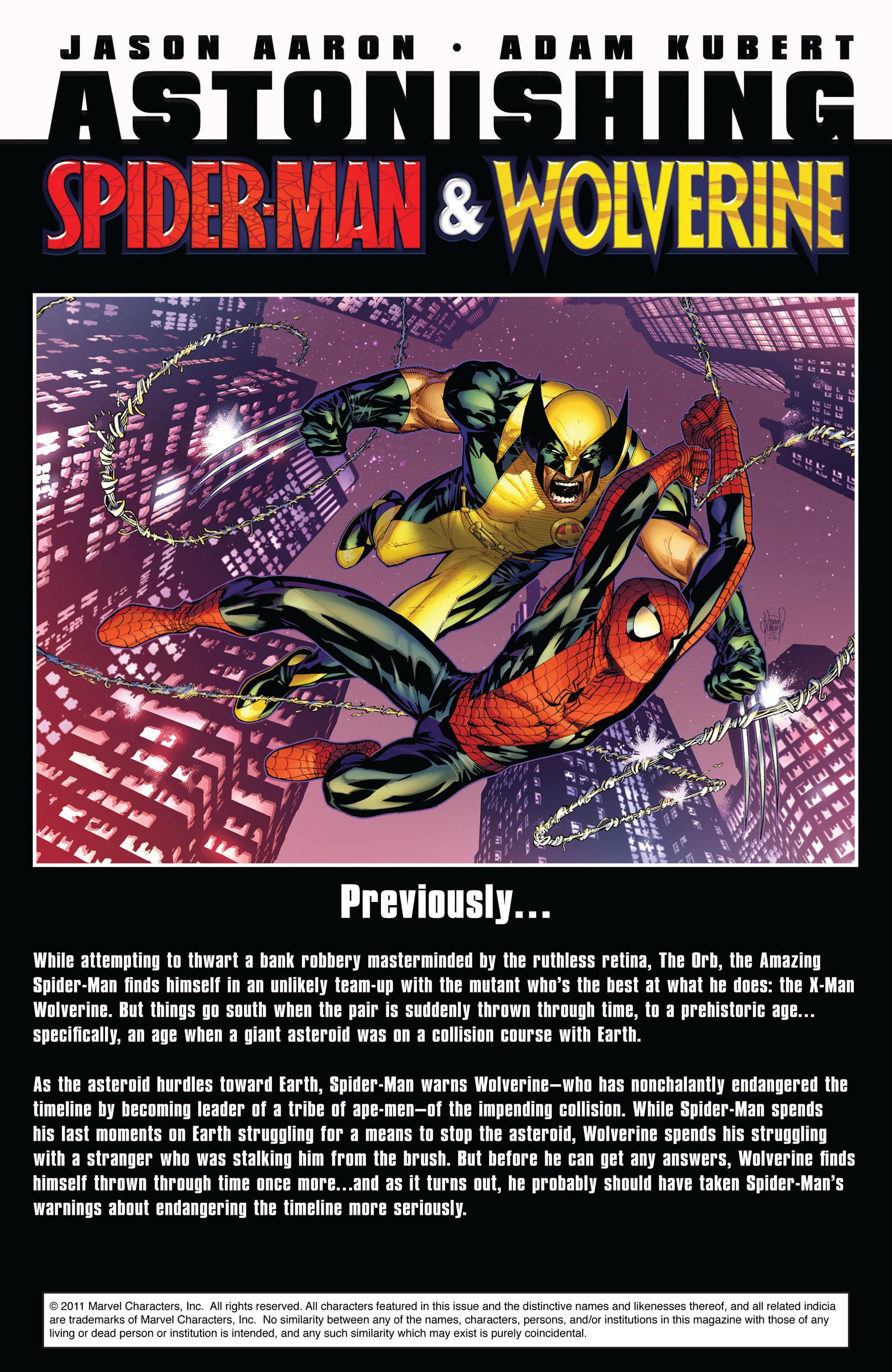 Read online Astonishing Spider-Man & Wolverine comic -  Issue #2 - 2