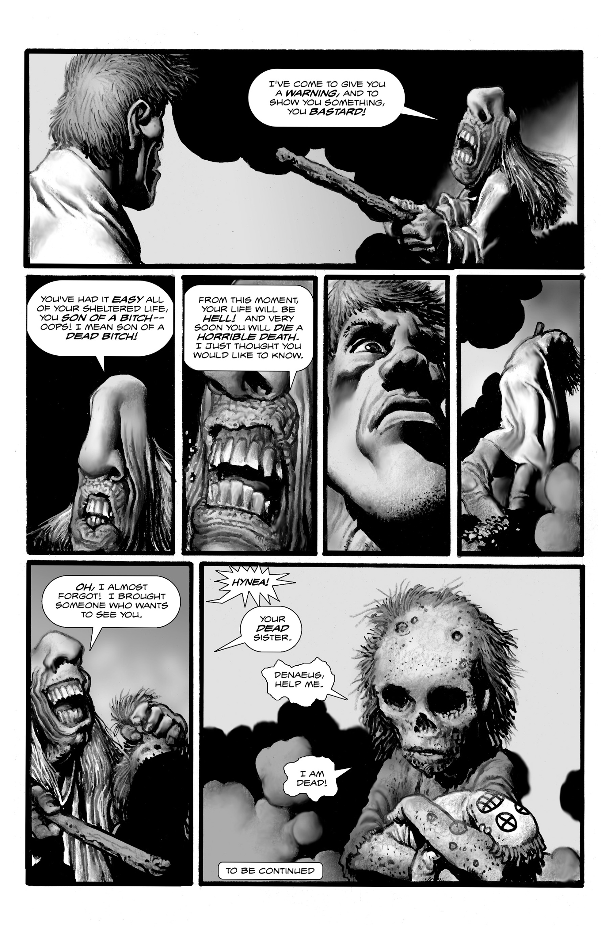 Read online Shadows on the Grave comic -  Issue #3 - 34