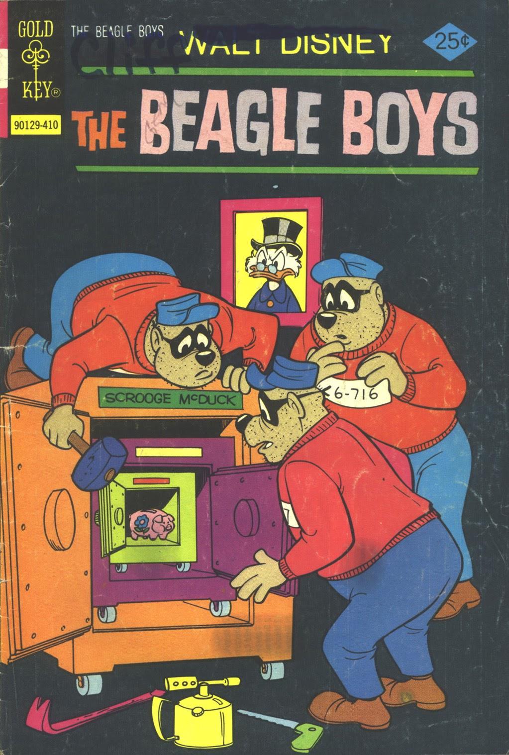 Walt Disney THE BEAGLE BOYS issue 22 - Page 1