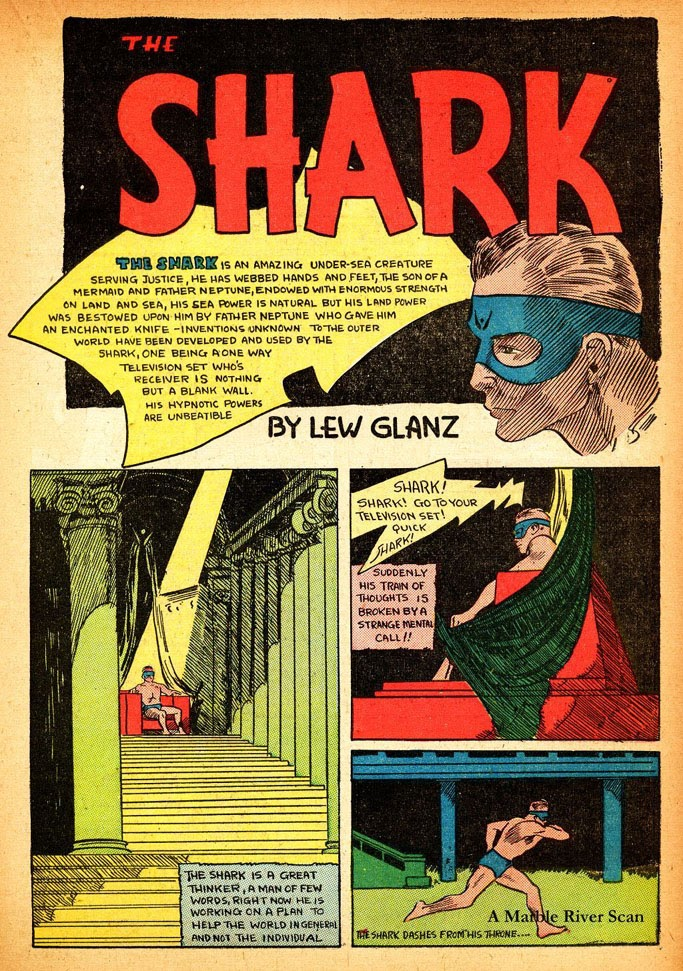 Read online Amazing Man Comics comic -  Issue #12 - 35