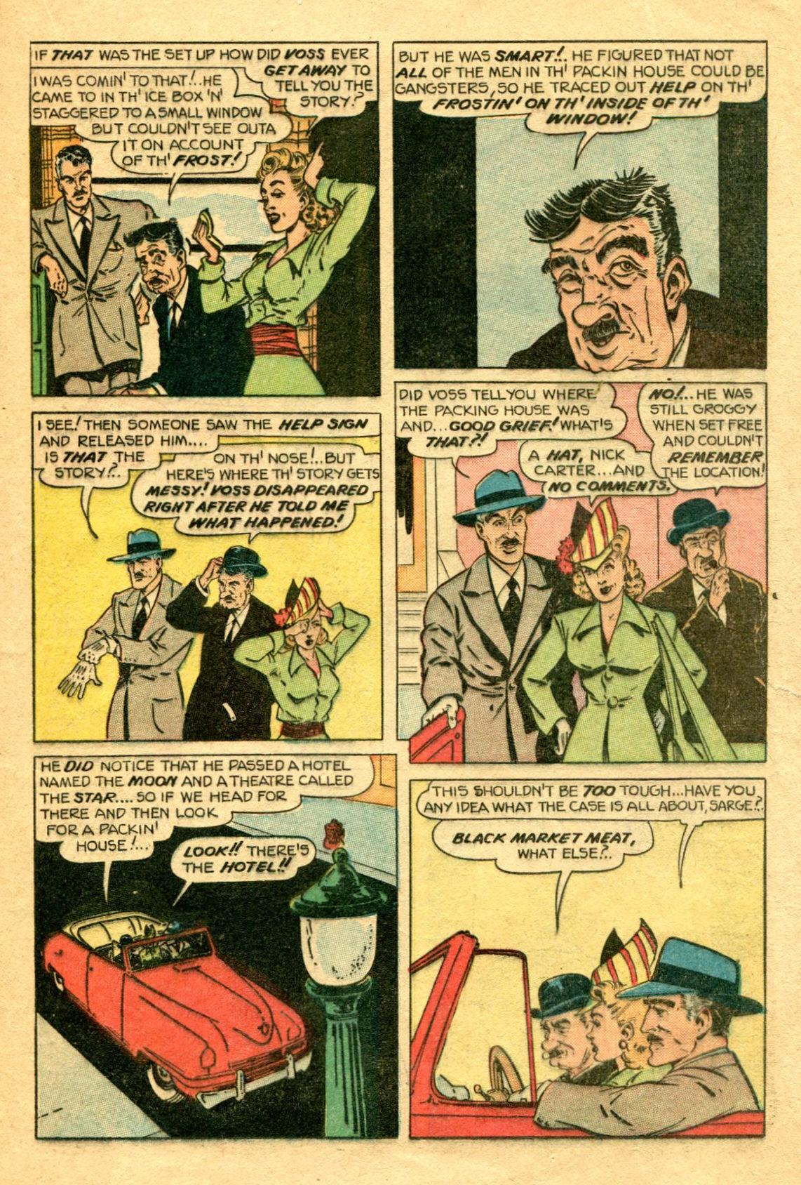 Read online Shadow Comics comic -  Issue #75 - 24