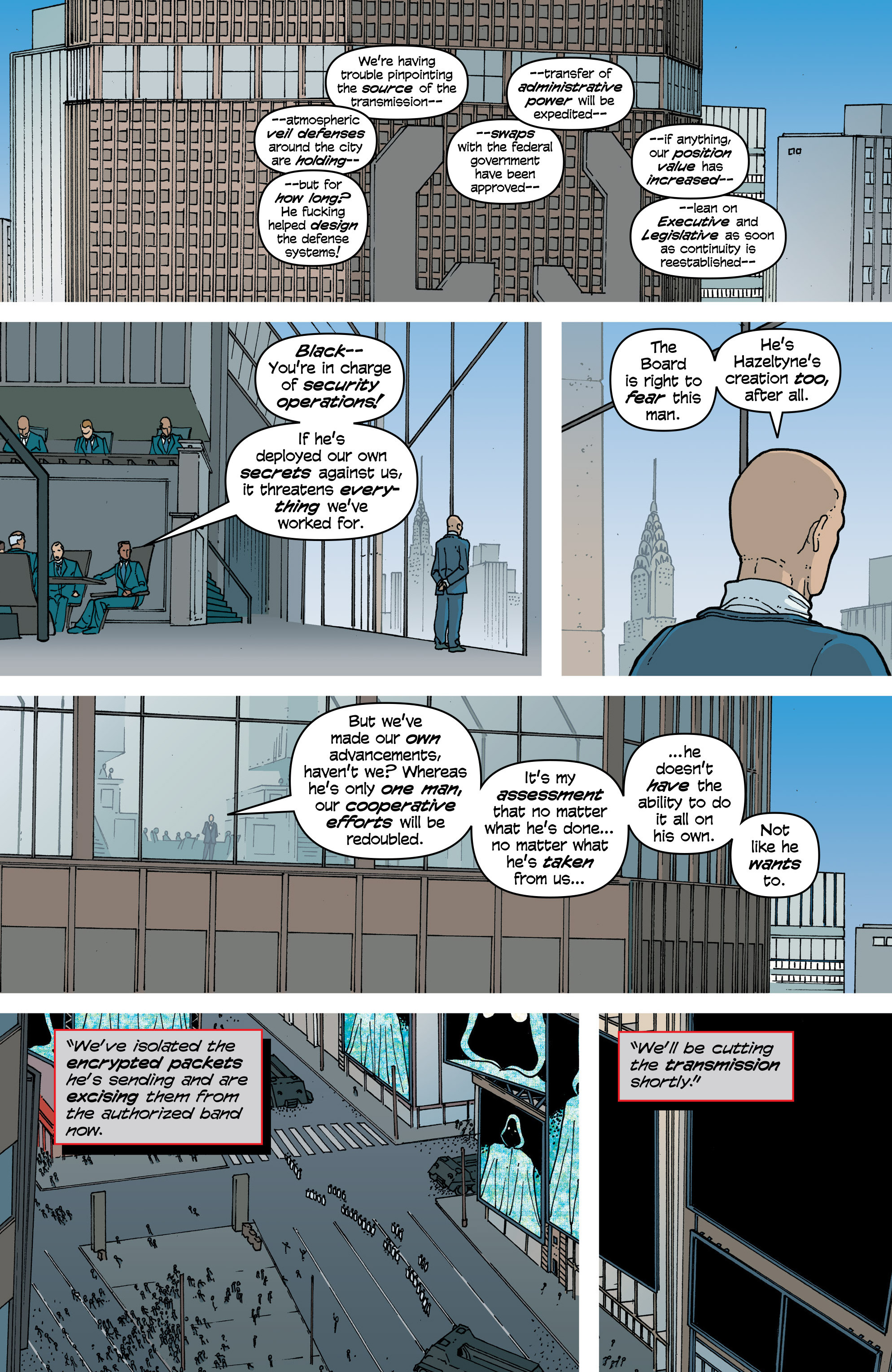 Read online Snowfall comic -  Issue #5 - 7