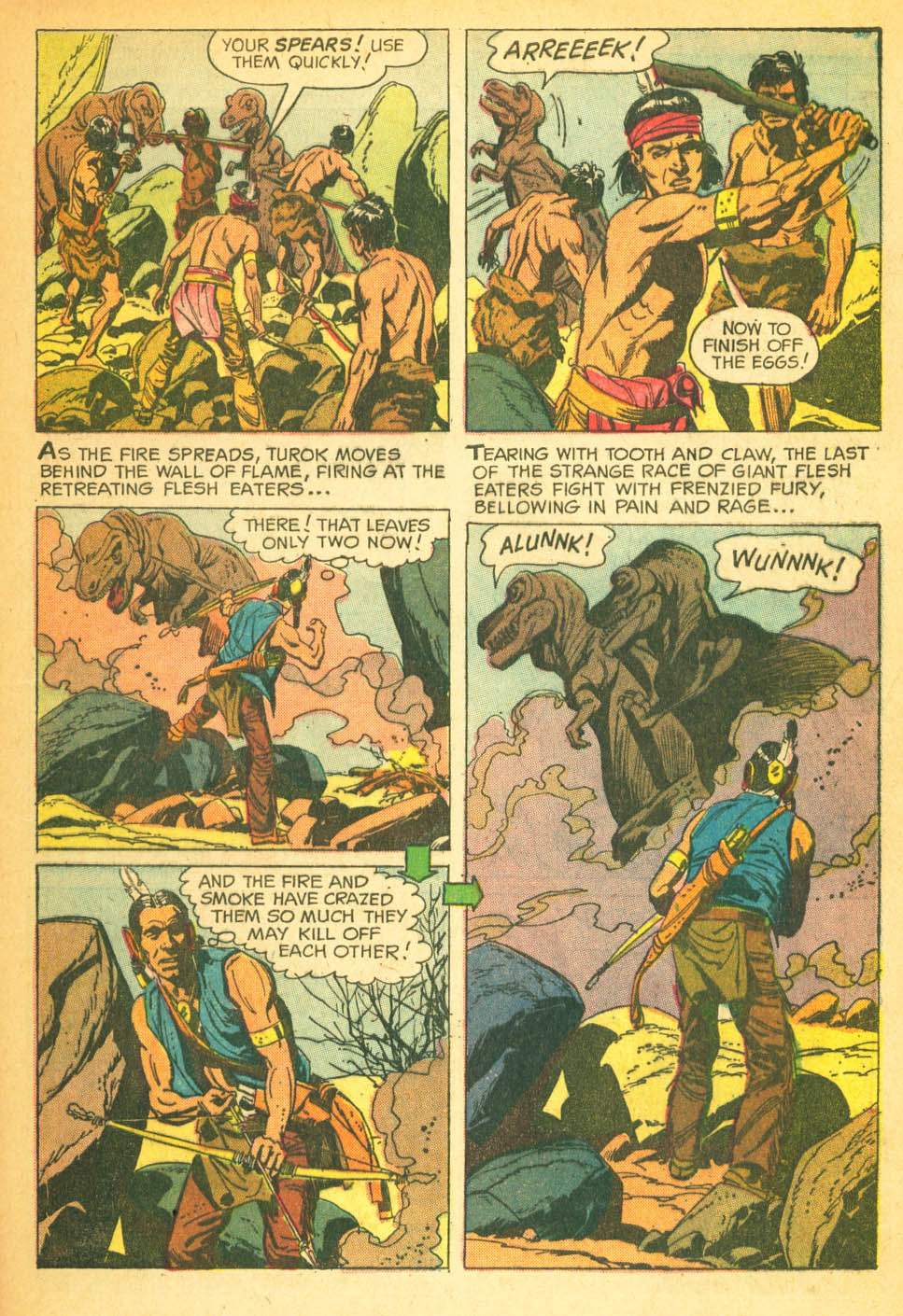 Read online Turok, Son of Stone comic -  Issue #27 - 33