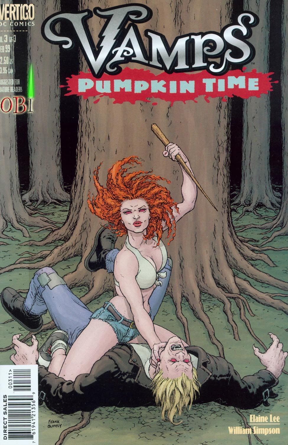 Vamps - Pumpkin Time issue 3 - Page 1