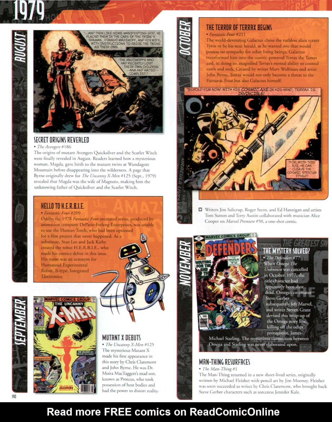 Read online Marvel Chronicle comic -  Issue # TPB (Part 2) - 79