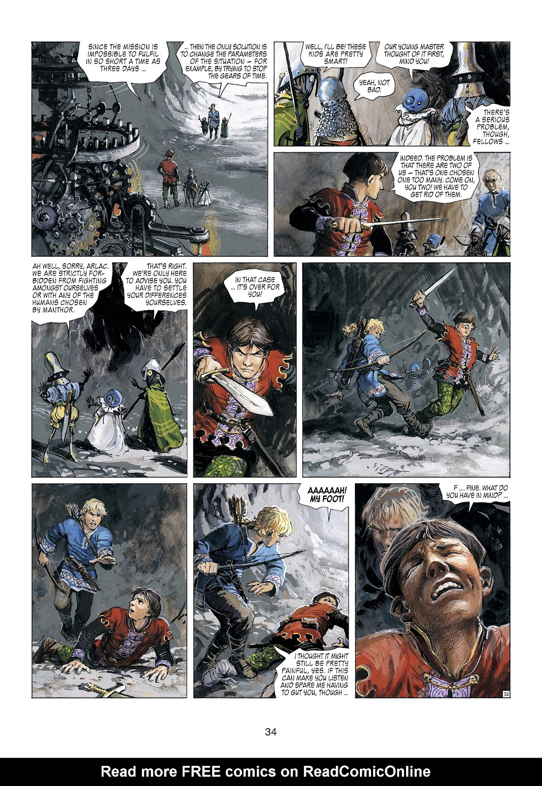 Read online Thorgal comic -  Issue #23 - 36