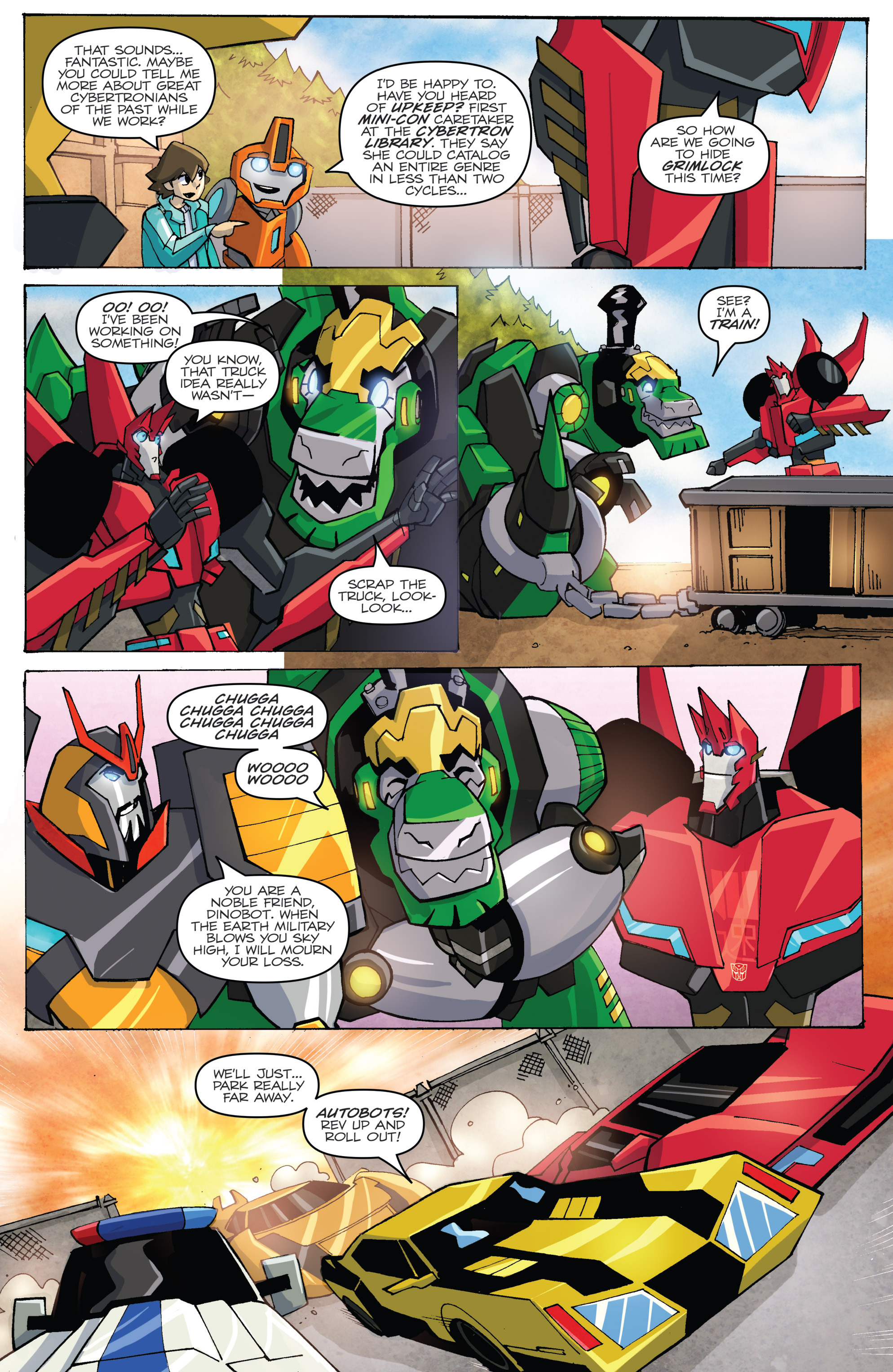 Read online Transformers: Robots In Disguise (2015) comic -  Issue #5 - 16