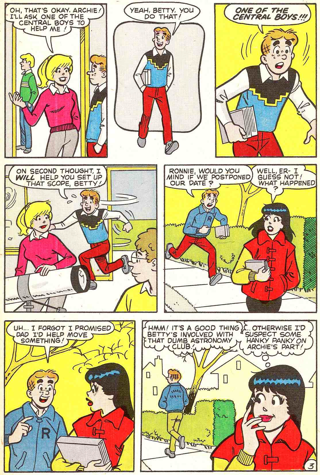 Read online Archie's Girls Betty and Veronica comic -  Issue #341 - 21