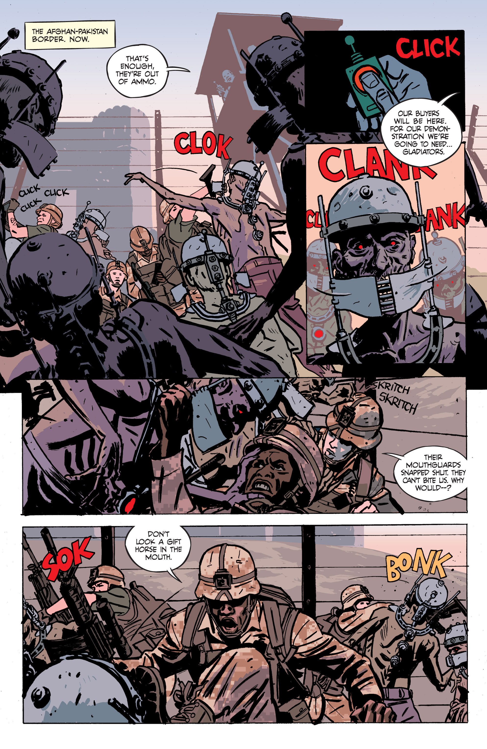 Read online Graveyard of Empires comic -  Issue # TPB - 98