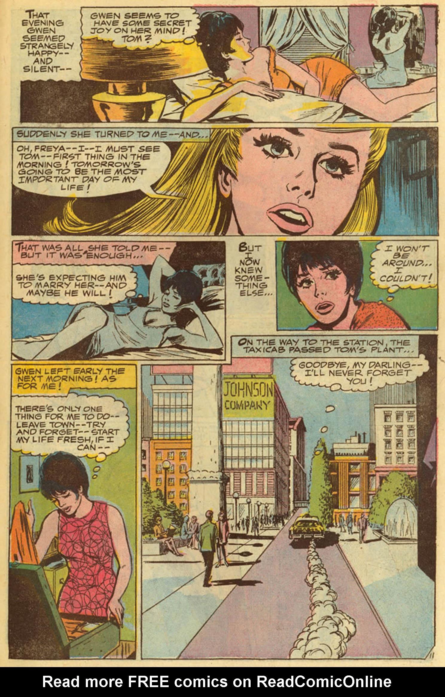 Read online Secret Hearts comic -  Issue #139 - 31